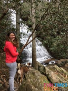 I enjoy hiking to must-see waterfalls and checking them off my list!