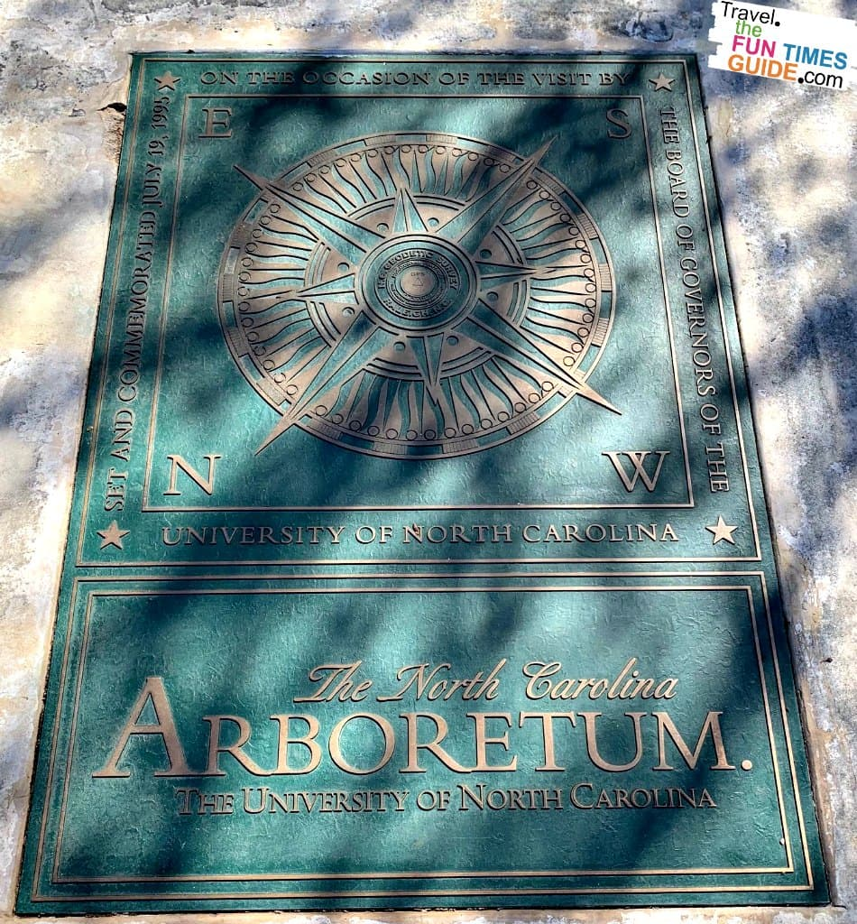 The North Carolina Arboretum is an (an affiliate of the University of North Carolina system.