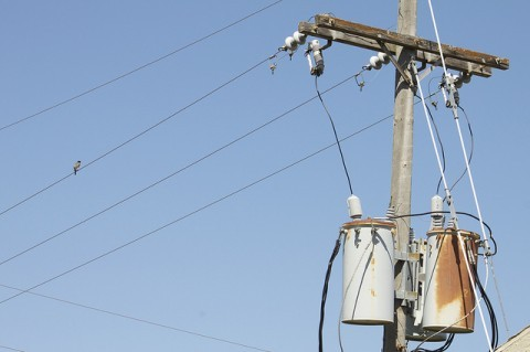 utility-poles-transformers