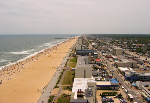 Virginia Beach shoreline
