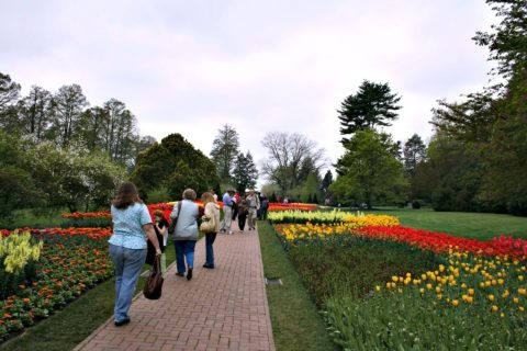 When is the best time to visit Longwood Gardens, PA?