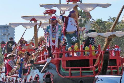 Looking for fun things to do in Tampa? It is known for the Gasparilla pirate festival.