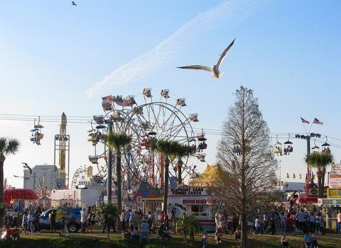 Another pick for fun things to do in Tampa? Visit the Florida State Fair