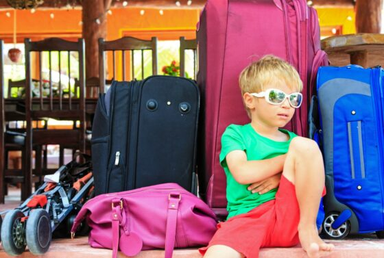 It's easier to leave all of your luggage (except for 1 carry-on bag) in the hallway the night before - that way you don't have to lug everything around until you're allowed to leave the ship.