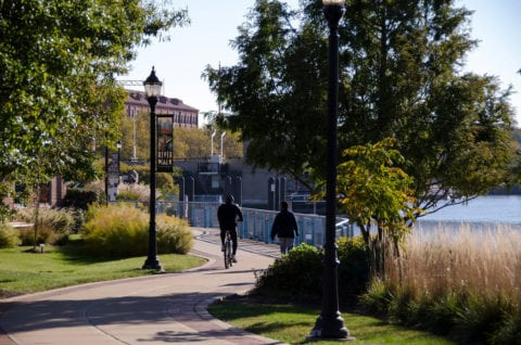 The Wilmington Riverwalk Is a nice place to spend an afternoon.