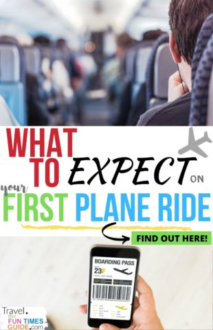 What to expect on your first plane ride