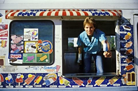When was the last time you got something from an old school ice cream truck?